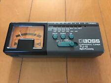 Used TU-12 BOSS Chromatic Tuner for Guitar Bass Acoustic Digital Processing F/S