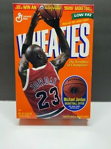 1998 MICHAEL JORDAN Wheaties Cereal Box Basketball Offer Lebron Last Dance BULLS