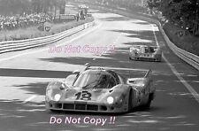 Pedro Rodriguez & Jackie Oliver Gulf Porsche 917 LH Le Mans 1971 Photograph 7