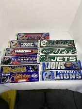 Nfl Team Bumper Stickers (29)—Read Description