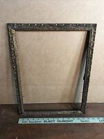 "Vintage Victorian Gesso Antique Gold Color Frame Fits 12 "" by 16""Painting"