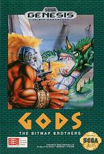 ## NEUWERTIG: SEGA GENESIS - GODS by The Bitmap Brothers (US Mega Drive Spiel) #