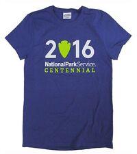 National Park Service Centennial 100 Year Anniversary Ladies Purple T-shirt XXL