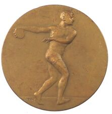 Sports track and field DISCUS bronze 36mm by Holy