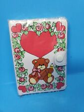 Enesco Lucy and Me Lucy Rigg bear little notebook