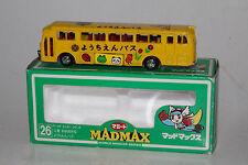MADMAX MINICAR DIECAST JAPAN, MITSUBISHI FUSO KINDERGARTEN BUS, 1:100, BOXED
