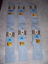 6 - High Meadows - Moisture Wicking Boot Socks - #9157 - Gray - XL - Fits 12-15