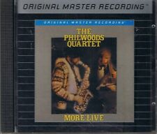 Woods, The Phil  Quartet More Live MFSL Silver (Alu) CD Neu OVP Sealed Rar OOP