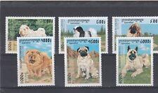 a140 - CAMBODIA - SG1671-1676 MNH 1997 DOGS