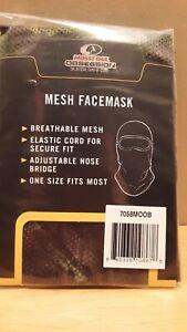 Mossy Oak Obsession Men's Mesh Face Mask