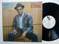 WINSTON GROOVY Coming on Strong LP Reggae UK press  #472