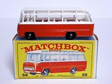 Matchbox Lesney No.68b Mercedes Coach Type E4 Series Box (VERY GOOD CONDITION!)