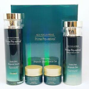 ISA KNOX Age Focus Prime Double Effect Ampoule Serum Special Set Pro Retinol