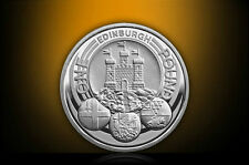 (PL) ROYAL MINT 2011 UK EDINBURGH £1 SILVER PROOF COIN - ENGLAND