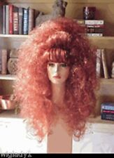 SIN CITY WIGS RED HOT BIG HAIR CURLY SEXY TEASED BANGS LONG FLUFFY VOLUME SO CUT