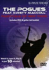 10 Minute Teacher Pogues/Kirsty MacColl Fairytale Of New York TAB Guitar DVD HIT