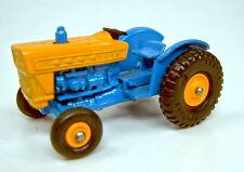 Matchbox RW 39C Ford Tractor zweifarbig blau/gelb guter Zustand