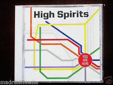 High Spirits: You Are Here CD 2014 Chris Black Hells Headbangers HELLS 118 NEW