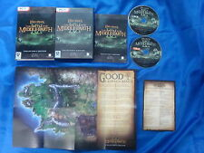 pc LORD Of The RINGS Battle For Middle Earth II 2 Collectors Edition + MAP