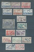 France selection of fine used early stamps and sets - 2 scans - good catalog