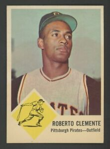 1963 Fleer #56 Roberto Clemente Pittsburgh Pirates HOF