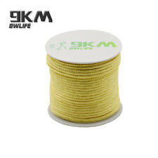 High Strength Aramid Fiber 100ft 750lbs Braided Kevlar Line for Fishing Camping