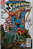 Superman Unchained #1 Variant signed by Scott Snyder