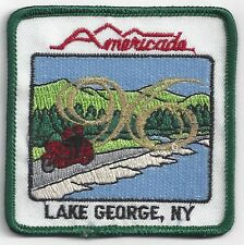 Americade Patch 1996 Lake George NY Square Embroidered Patch