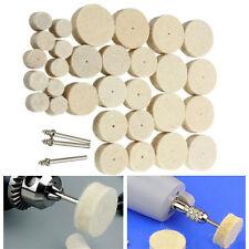 33pcs Wool Polishing Wheel Grinder Accessories for Dremel Rotary Tool