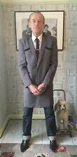 TEDDY BOY DRAPE JACKET brand new half collar TRADITIONAL CUT AND TAILORED .