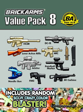 BRICKARMS Value Pack 8 compatible with Lego®