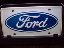 2003 2004 2005 2006 2007 FORD F250 F350 FORD LOGO FRONT LICENSE PLATE