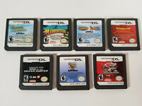7 Nintendo DS Game Lot Kung Fu Panda Shrek Madagascar Monster Jam Fantastic Four