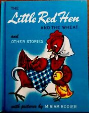 THE LITTLE RED HEN & THE WHEAT ~ Vintage 1940's Children's BOOK W/ Jacket
