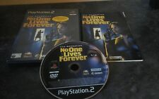 The Operative: No One Lives Forever - PS2 - COMPLETE