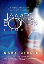 JAMES BOND'S LONDON RARE LIMITED EDITION 2001 PROFUSELY ILLUSTRATED GUIDE BOOK