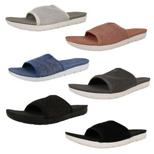 Fitflop Womens Uberknit Slide Sandal Shoes
