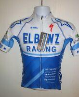 NEW 2018 HYPERTHREADS ELBOWZ Racing Cycling Team Short Sleeve Pro Jersey Small S
