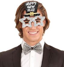 Party Gafas silvesterstar plata NUEVO - ACCESORIO ACCESORIO CARNAVAL