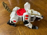 Imaginext Might Morphin Power Rangers White Ranger Tiger Zord - Fast Shipping