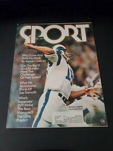 Sport Magazine - Roman Gabriel on cover, Vintage - Dec. 1970