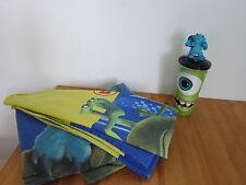 2 tlg Kinderbettwäsche Monster Uni AG + Trinkbecher Figur Kinder Bettwäsche