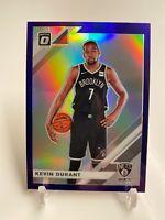 2019-20 Donruss Optic Kevin Durant Purple Prizm #112
