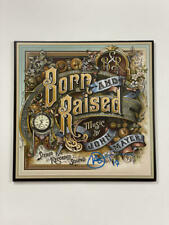 JOHN MAYER SIGNED AUTOGRAPH ALBUM VINYL RECORD - BORN AND RAISED VERY RARE! ACOA