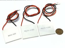 3 Pieces TEC1-12706 Heatsink Thermoelectric Cooler Cooling Peltier 12V 60W B5