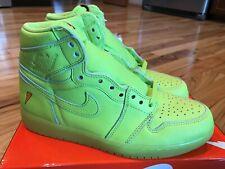 e6d44c659ff095 Nike Air Jordan 1 Retro Hi OG Gatorade Lemon Lime Cyber Yellow AJ5997-345  Size