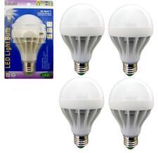 4 Pack 6 Watt LED 110V Light Bulbs = 50 Watt Replacement Energy Saving 80% Bulb
