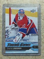 16-17 UD Upper Deck Series 2 YG Young Guns #473 CHARLIE LINDGREN RC Rookie