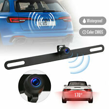 Waterproof 170° HD Car RearView Reverse Backup Camera License Plate Night Vision