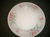 MIKASA FINE CHINA ''FERN ROSE L2005 DINNER PLATE  10 3/8 ''